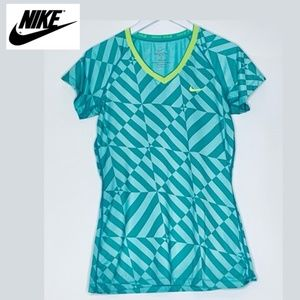 Nike Pro Dri-Fit Tee Shirt Fitted Large